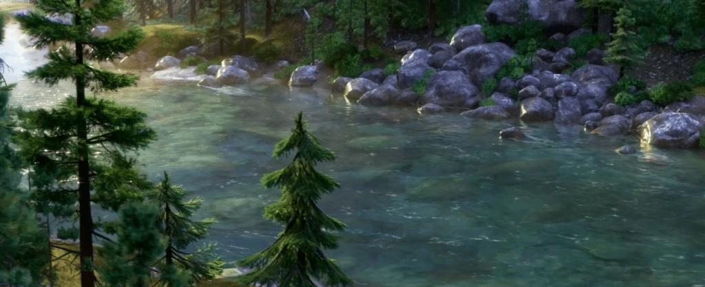 The Good Dinosaur Landscape