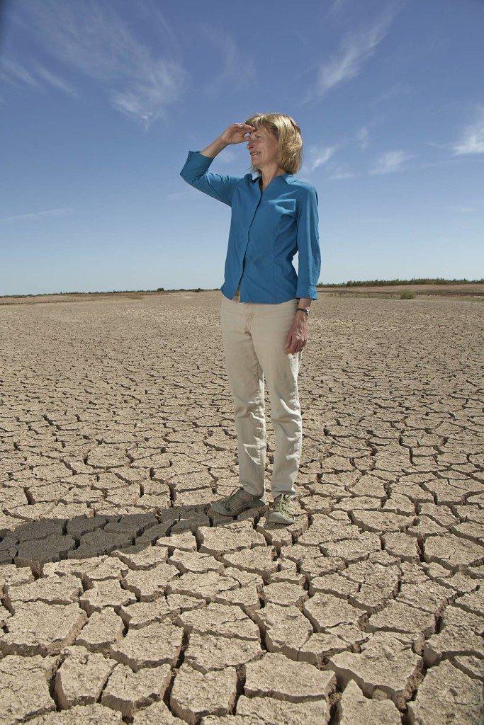 Sandra Postel and dry ground