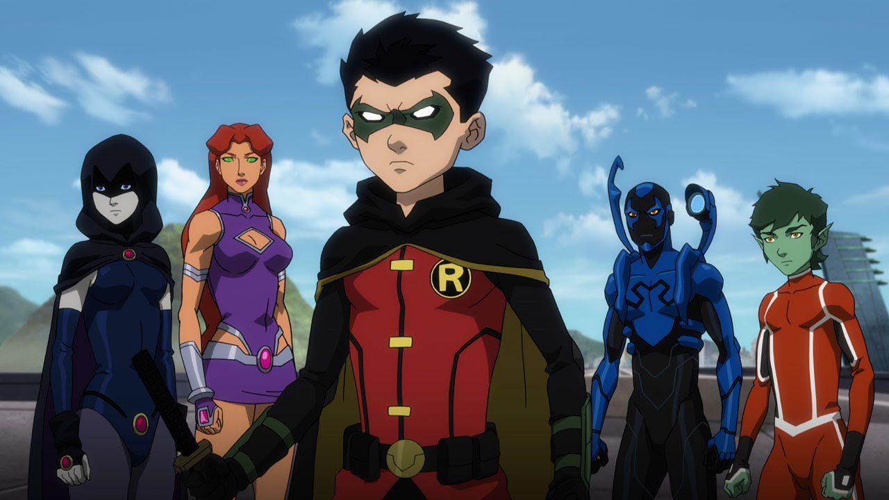 Justice League vs Teen Titans: Raven Encounters Trigon in New Clip