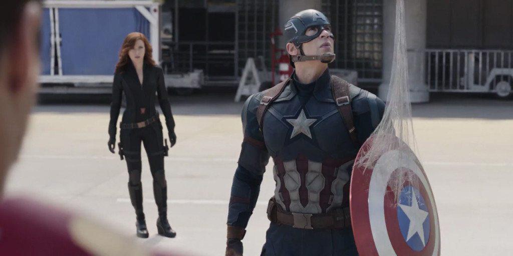 Captain America Meets Spider-Man