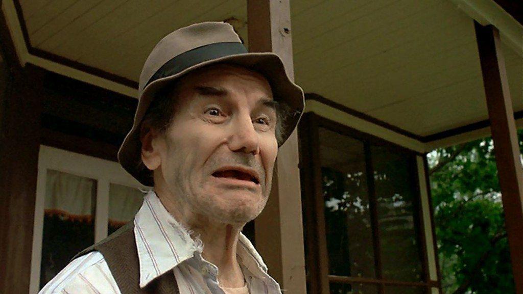 Crazy Ralph: prophet of doom, posterboy for dental prosthetics.
