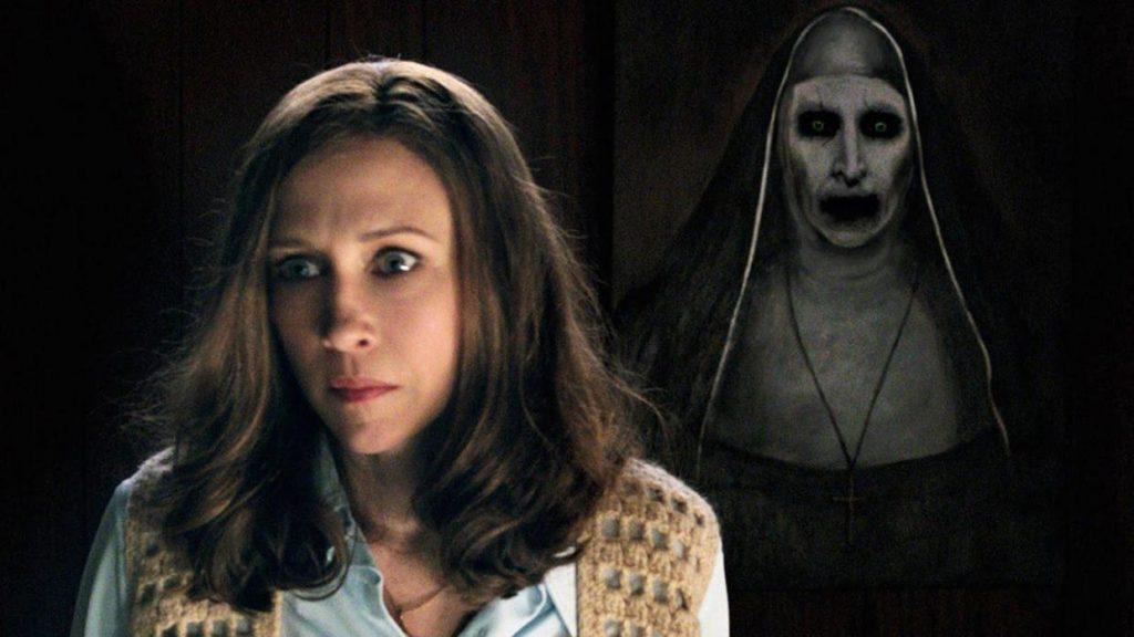 Ed's painting of that demonic nun sure looks lifelike. I'd run if I were you, Lorraine.