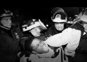 blacks vs police